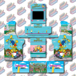 Arcade1Up 3/4 Scale 4 Player Complete Kits