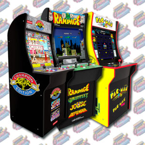 Arcade1Up 3/4 Scale Graphics By Cabinet
