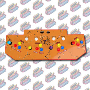 Arcade1Up 3/4 Scale 4 Player Control Panel Graphics